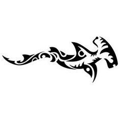 Maori hammerhead shark tattoo. This is My fav shark n this would b a good tat to get.