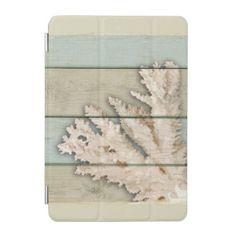 #Cream Colored Coral iPad Mini Cover - #travel #electronics