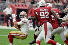 The end zone felt more like the forbidden zone for both the San Francisco 49ers and the Arizona Cardinals on Sunday at University of…