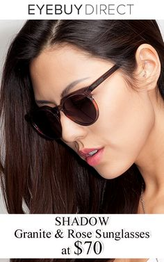 88ac69b551e0a EyeBuyDirect is offering SHADOW Granite and Rose Sunglasses at just  70.  Order now and get