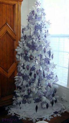 Masculine Christmas Tree Árvores de natal brancas!   christmas tree and xmas