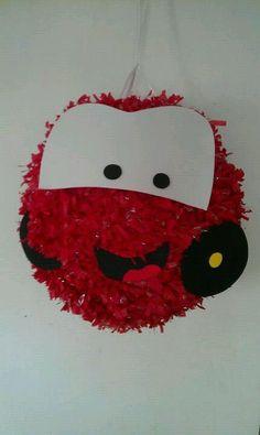 Piñata de cars... Piñatas Chela