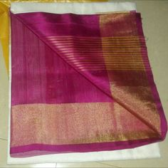 White color Uppada silk saree