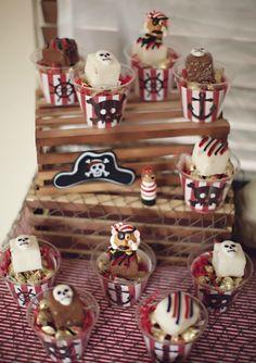 "Photo 1 of 40: Pirate & Mr. Potato Party / Birthday ""Mr Potato the Pirate "" | Catch My Party"