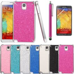 Luxury Bling Glitter Matte Hard Case Cover For Samsung Galaxy Note 3 III N9000