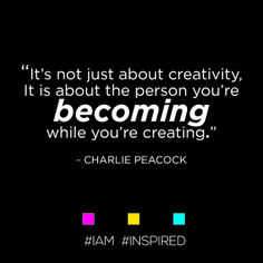 #MondayMotivation #IAM #INSPRED by #CharliePeacock