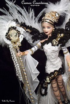 Cameo Contessa - OOAK Victorian and Historical Dolls