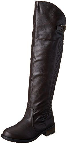 44fdeeec84c1 Qupid Women s Relax 128X Riding Boot Riding Boots