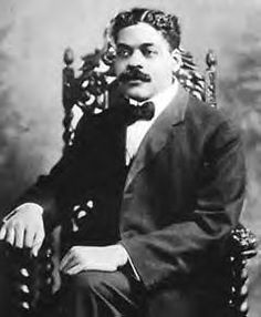 Arturo Alfonso Schomburg, Puerto Rican historian, writer & activist. He helped raise awareness of the great contributions that Afro-Latin Americans and Afro-Americans have made to American society. He became motivated in elementary school when one of his teachers claimed that Blacks had no history, heroes or accomplishments. This patently false claim inspired Schomburg's life-long quest to find the truth and to document the accomplishments of Afro-Latinos in the Americas. (1874-1938)