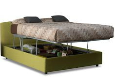 Easy Access Simplicity Storage Bed