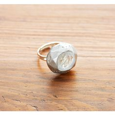 Show your style with a DIY Friendly Plastic® Silver Gemstone Ring