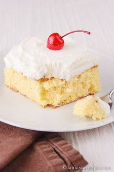 Tres Leches Cake!  Cinco de Mayo?