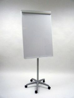 Amazon.com: Heavy-Duty Mobile Magnetic Dry-Erase Flipchart Easel: Office Products