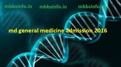 MD General Medicine admission management quota 2016mbbsinfo