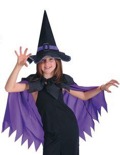 Spinnen-Hexe Kinder-Kostüm-Set