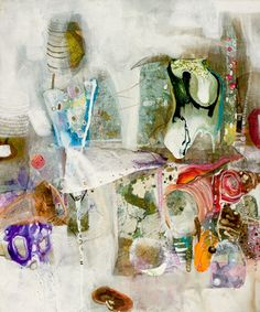 "Saatchi Online Artist: Amanda Krantz; Acrylic, 2013, Painting ""Oh, the places you'll go!"""