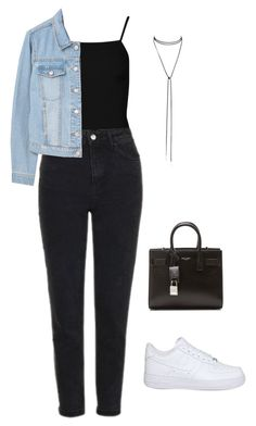 """""""#23 Minimal"""" by kathizimmer on Polyvore featuring Mode, Boohoo, Topshop, MANGO, Cristabelle, NIKE und Yves Saint Laurent"""