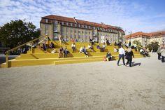 How Schønherr is Transforming Aarhus with Experimental Urban Interventions,The Plaza / Schønherr. Image © Martin Schubert