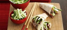 In China, duck is celebrated as a symbol of fidelity and a healthy life. The celebrated Peking way of cooking duck is time-consuming - this is a much simpler version but equally delicious! Meat Recipes, Chicken Recipes, Cooking Recipes, Game Recipes, Savoury Recipes, Crepe Sale, Duck Pancakes, Duck Soup
