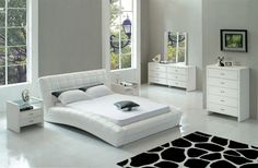 white modern bedroom set - interior design bedroom color schemes Check more at http://maliceauxmerveilles.com/white-modern-bedroom-set-interior-design-bedroom-color-schemes/
