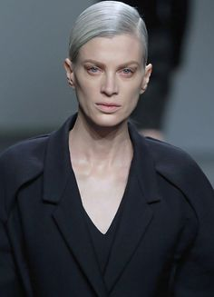 Kristen McMenamy at Calvin Klein