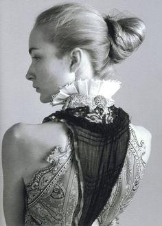 Felicity Gilbert by David Armstrong - Balenciaga S/S 2006