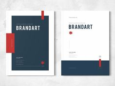 Design - Jahresbericht Brand Guidelines by Brochure Design Your One Year-Old's Development The first Notebook Cover Design, Booklet Cover Design, Brochure Cover Design, Brochure Layout, Creative Brochure Design, Graphic Design Brochure, Brochure Indesign, Template Brochure, Editorial Design