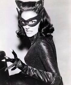 Lee Meriwether as Catwoman, in Batman's 60' tv series.