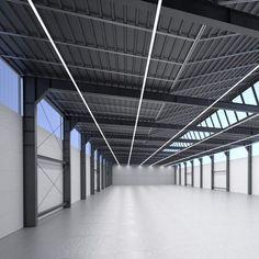 Aufbau-Leuchte / hängend / LED / linear SILVERLINE.PRO K + B lighting systems GmbH