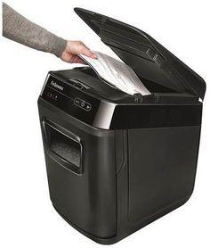 Fellowes AutoMax 130C Cross Cut Paper Shredder