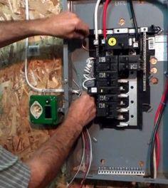 safe generator hook up
