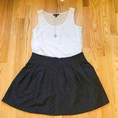 Selling this Banana Republic Diamond Print Full Skirt on Poshmark! My username is: davias_closet. #shopmycloset #poshmark #fashion #shopping #style #forsale #Banana Republic #Dresses & Skirts