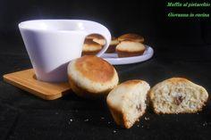 muffin al pistacchio - dolci - merenda - terralcantara - giovanna in cucina