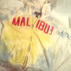 "Lucky brand semi tye dye MALIBU zip up Lucky brand MALIBU zip up. Lucky brand nailed it with this zip up, material soft and ""worn in"" like... Comfy with leggings or jeans! Excellent condition Lucky Brand Tops Sweatshirts & Hoodies"