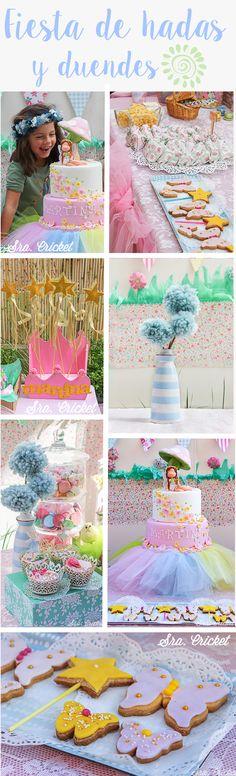 Fiesta de hadas Fairy Party KIDS PARTY Fiesta tematica infantil