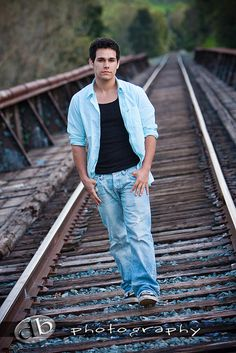 Tyler {Male Senior Portrait} by DB-Photography, via Flickr