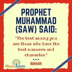 Want to be remembered? Have excellent #manners. People remember that! http://aboutislam.net/reading-islam/about-muhammad/good-manners-a-key-to-paradise/ #Hadith #KeysToParadise #ProphetMuhammad