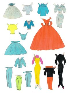 Vibs paper doll, handmade (2 of 5)