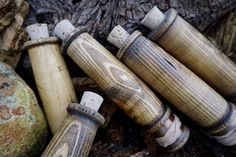 This is what we love about natural materials, you can bring the beautiful grain out and let it sell itself. these beautiful handmade wooden Hobo reels are made in the UK and available at Beaver Bushcraft.