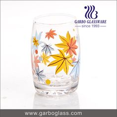 Glass tumbler / drinking cup /glass cup