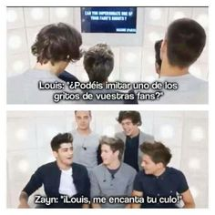 Imagen de one direction, zayn malik, and louis tomlinson Imprimibles One Direction, Harry Styles Memes, Larry Shippers, 5sos Memes, Louis Tomlinsom, What Makes You Beautiful, Old Memes, One Direction Memes, 1d And 5sos