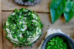 Herbed Cashew Cheese (dairy free, paleo) ~ ~~savorylotus.com