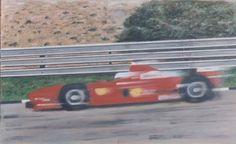 Original oil painting by Barrie Cann Michael Scumacher, Ferrari F1 #oil #painting #art #cars #F1 #Barrie #Cann #barriecann #Grand Prix
