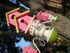 Image result for birdhouse with silverware