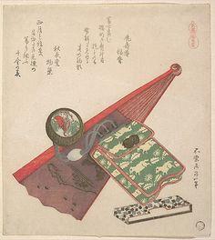 Horse Pattern (Koma shôbu),from the series Horses  Katsushika Hokusai  (Japanese, 1760–1849)  Period: Edo period (1615–1868) Date: 1822 Culture: Japan Medium: Polychrome woodblock print (surimono); ink and color on paper