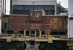 Santa Fe Waycar Ce-11 No. 999761 At San Bernardino - Taken on July 8, 1991.