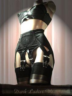 The same garter belt worn by Dita Von Teese in her Erotique video and promo pictures!! Dark Ladies Wear Arabella Girdlette …..50's Retro Style 10 or 6 Strap Garter Girdle Suspender Belt
