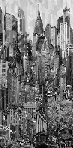 NYC. Black and White Dreamday