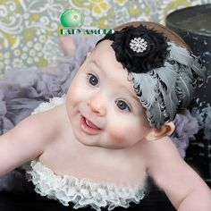 Gorgeous Feather Headband for Baby