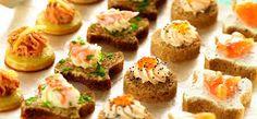 canapes salados gourmet recetas - Buscar con Google Sushi, Cheesecake, Ethnic Recipes, Desserts, Food, Google, Celebrations, Events, Cheesecake Cake